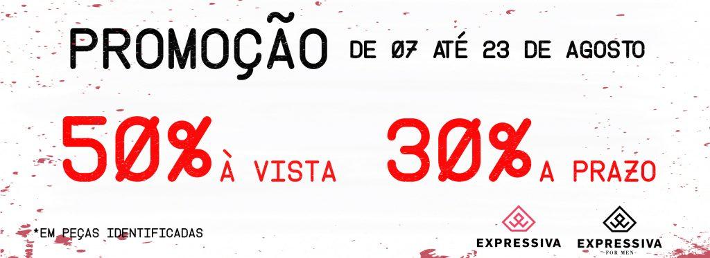 d6d54f4359ab0 Loja Expressiva, em Guarapuava, oferece descontos de 30% a 50%   RSN